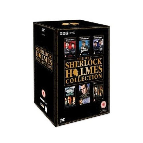 The Complete Sherlock Holmes Collection 6 Disc DVD Box Set: The Strange Case of Sherlock Holmes & Arthur Conan Doyle, Sherlock Holmes and the Case of the Silk Stocking, The Hound of the Baskervilles, The Sign of Four, The Blue Carbuncle, A Study in Scarlet