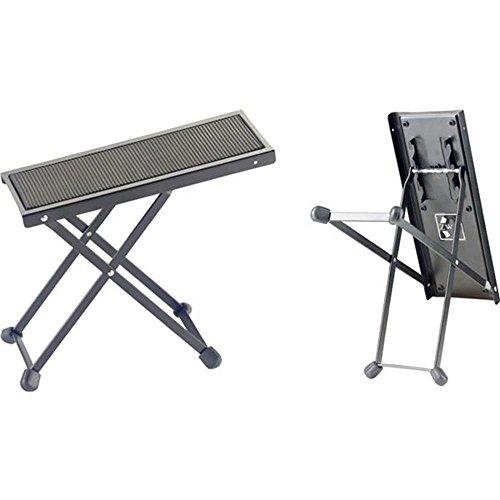 Stagg FOS-B1 BK Metal Guitar Footstool, black ⭐