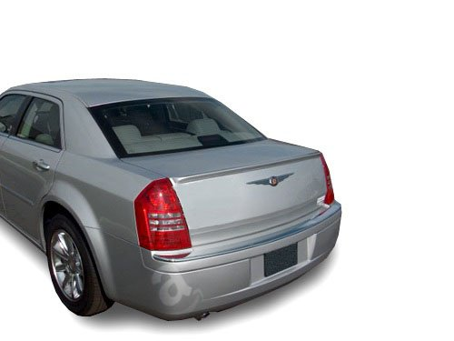 05-07 Chrysler 300/300C Lip Spoiler - Factory Style - Painted or Primed : PWG Cool Vanilla