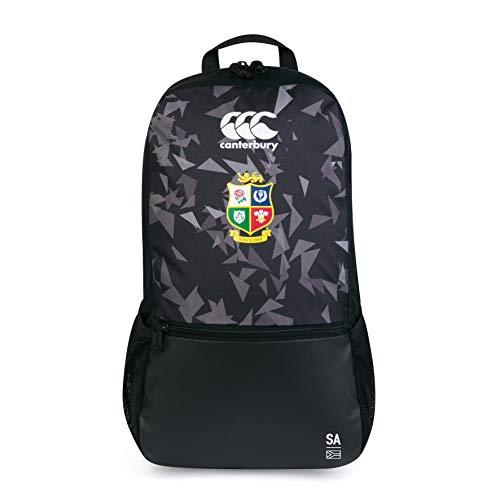 Canterbury of New Zealand Unisex's British and Irish Lions Medium Backpack, Black, One Size