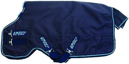 (81, navy/Blue) - Horseware Amigo Bravo 12 100g Turnout Rug Navy/Electric Blue 6-23cm