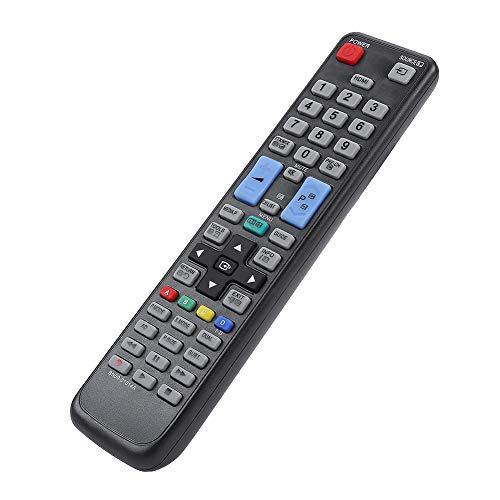 Wosune Electrónica para el hogar, Control Remoto de televisión, Control Remoto Universal de Repuesto, LCD ABS para Uso doméstico, TV LED