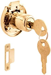 Prime-Line Products U 10667 Cabinet Lock, Surface Mount, Spring Loaded