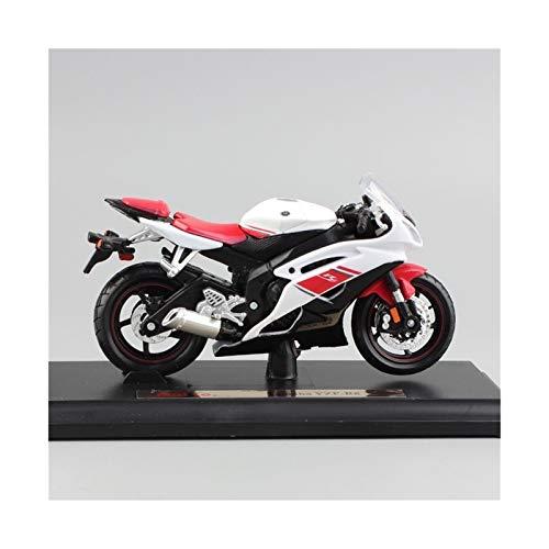 DSWS Motocicleta Miniatura 1/18 para Yamaha YZF-R6 Motocicleta Super Sport Race Metal Diecast Bike Modelo Motor Motor Moto Coche Nuevo en Caja