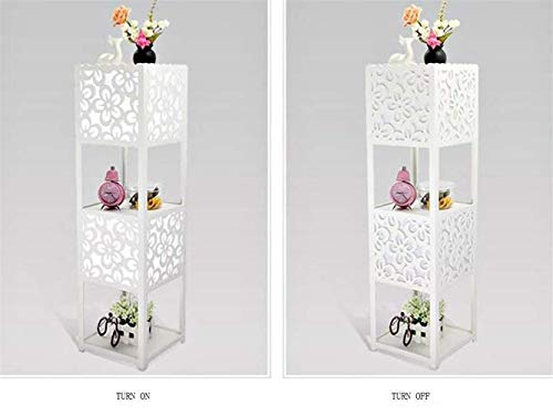 LKK-KK De pie luminarias vertical de PVC Plataforma dormitorio de noche de pie luminarias de Simple Living creativo moderno Bombilla incluida