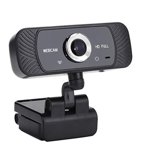 01 Cámara Web HD, micrófono Integrado con reducción de Ruido, Resistente, Compatible con cámara de computadora, Plug and Play, Multifuncional para computadora,...