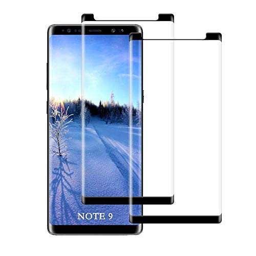 Note 9 Screen Protector Tempered Glass for Samsung Galaxy Note 9 Easy Install Bubble Free 9H Hardness Anti Scratch Full Coverage 2 Pack #4