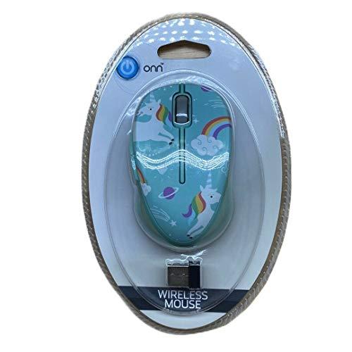 Wireless Mouse - Blue Unicorns
