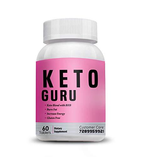 Vokin Biotech Keto Guru Tablets for weight loss 60 Tablets (Pink)