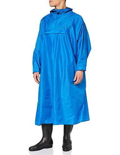 VAUDE Herren Poncho Hiking Backpack Poncho, blue, S/M, 050393005300
