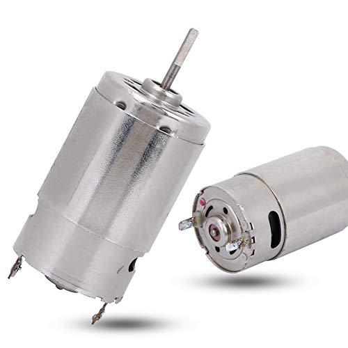 Motor exquisito, 46.5 * 27.5mm 7,2 V - 8.4 V Imán de metal de control remoto de 2.3mm para control remoto de automóviles