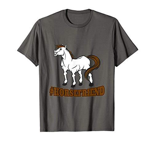 Pferdefreund - #HORSEFRIEND | Pferd Pferdebesitzer Hobby T-Shirt