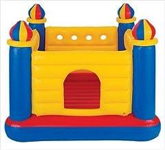 Kids Inflatable Bouncy Castle Bouncing Bouncer Jumper Indoor Outdoor Activity, 48259
