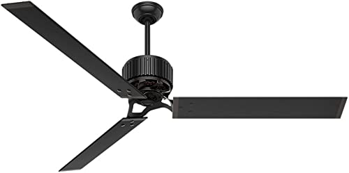 """new arrival Hunter HFC-72 Industrial new arrival Indoor online sale / Outdoor Ceiling Fan with Wall Control, 72"""", Brass sale"""
