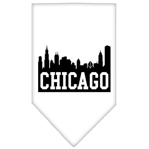 Mirage Chicago Skyline écran Imprimé Bandana pour Chien