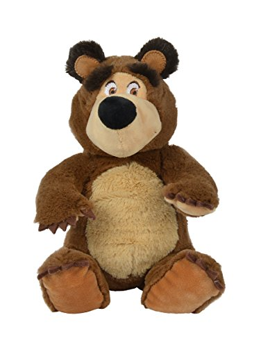 """Simba 109301034"""" Masha e Orso Bean Bag Orso, 20cm"""