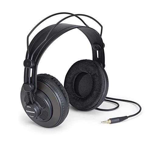 Samson Technologies SR850 Semi Open-Back Studio Reference Headphones, Black