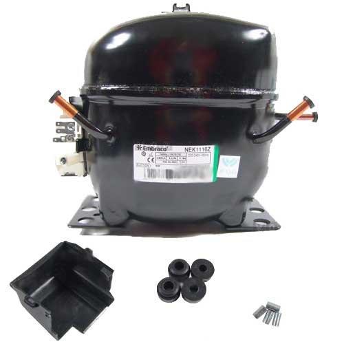 3S Verdichter kompressor Embraco Aspera EMT49HLP LBP RSIR R134a KÜHLAGGREGAT