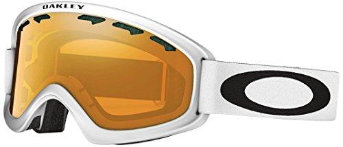 Oakley Uni Skibrille O2 XL Sportbrille, Weiß (Matte White/Persimmon), 99