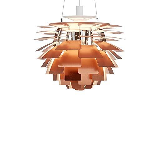 Louis Poulsen PH-Aufhängung Artichoke Kupfer von Poul Henningsen – 96 W LED 2700 K, 600 mm, dimmbar