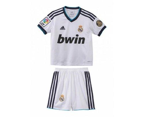 Real Madrid Boys Home Football Kit 2012/13