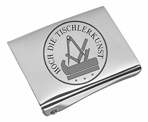 Gravurmanufaktur Berlin Koppelschloss fürTischler mit Handwerk und Zunftzeichen - Koppelschloß-Gravur