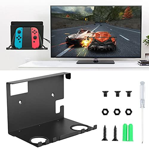 EEEKit Wandhalterung für Nintendo Switch Konsole, Pro Controller und Joy Con Gamepad, Halterung Ständer mit Schraubenzieher und Schraubensatz