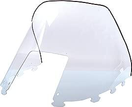 Polaris Windshield Super Sport (Wedge Hood) 1994-1998 Low 9 Black Snowmobile Part# 40-0511 OEM# 5431447