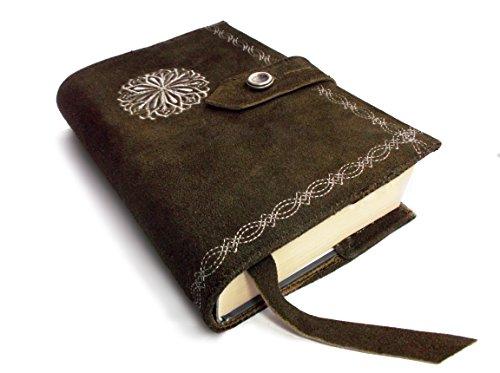 Skórzana kurtka książkowa - średniowieczna osłona z prawdziwej skóry