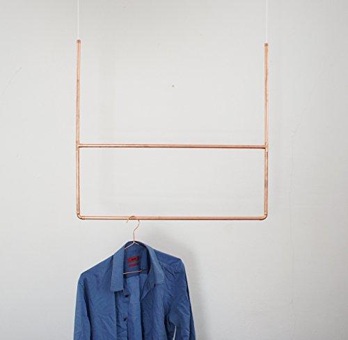 Copper Clothes Hanger - Garderobe - 100 % Kupfer