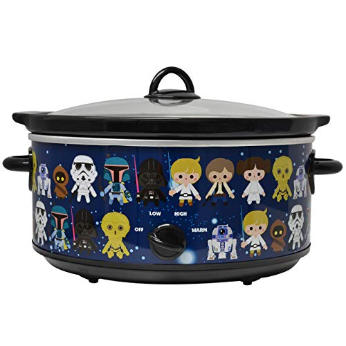 Check Out This Uncanny Brands Star Wars 7 Quart Slow Cooker- Easy Cooking Across the Galaxy- Kitchen...