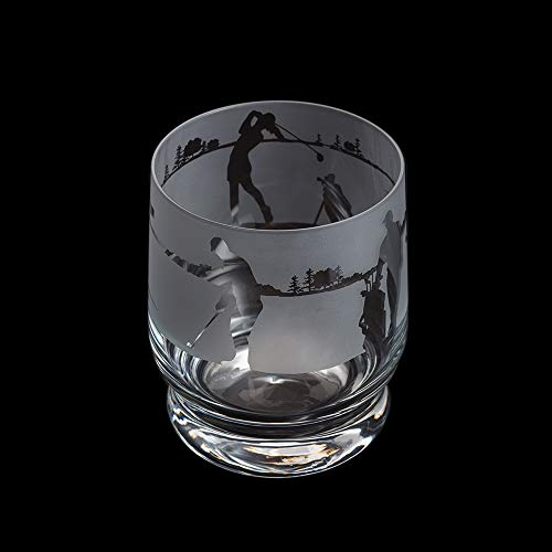 Dartington Crystal Aspect Tumbler Golf, 100 mm (H) 35 cl
