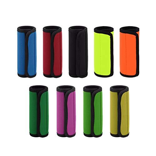 BESPORTBLE 2 stücke Koffer Griff Abdeckung Elastische Verdicken Handschuhe Trolley Griff Protector Koffer Handschuhe (Gelegentliche Farbe)