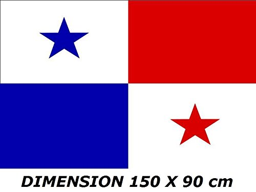 Planete Supporter *** PROMOTION *** Drapeau Panama - 150 x 90 cm (Uniquement chez le vendeur 100% conforme à l'image)
