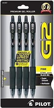 4-Pack Pilot G2 Premium Gel Roller Pen