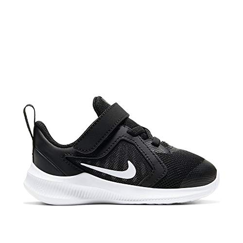 Nike Unisex-Baby Downshifter 10 (TDV) Sneaker, Black/White-Anthracite