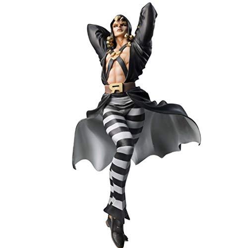 PY Jojo Bizarre Adventure Risotto Nero Figura de acción de Dibujos Animados Toy Modelo Popular Regalo Decoraciones de ACG Ordenadores muñeca Adornos