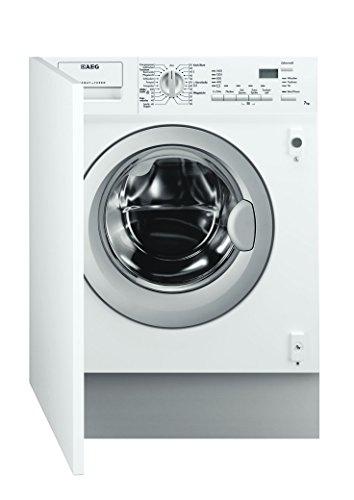 AEG L61470WDBI - Lavadora-secadora (Front-load, Integrado, Color blanco, 4 kg, 1400 RPM, A)