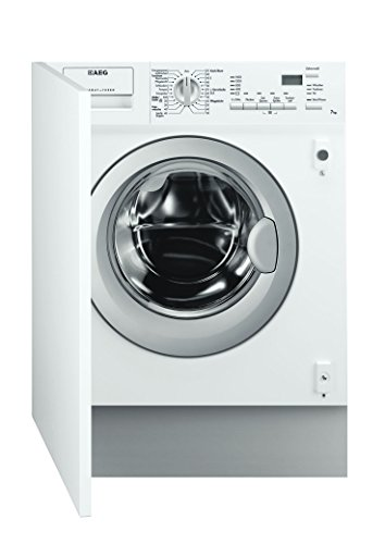 AEG L61470WDBI - Lavadora-secadora (Front-load, Integrado, Color blanco, 4 kg, 1400 RPM, A)