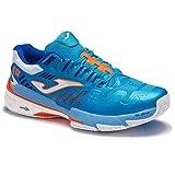 Joma Slam, Zapatos de Tenis Hombre, Turquesa, 41 EU