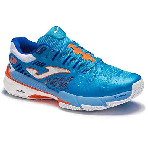 Joma Slam, Zapatos de Tenis Hombre, Turquesa, 44.5 EU