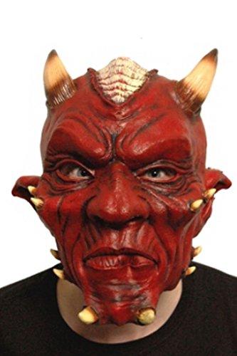 Masque de Halloween Fancy Dress Party Costume adulte Hells Devils Masque