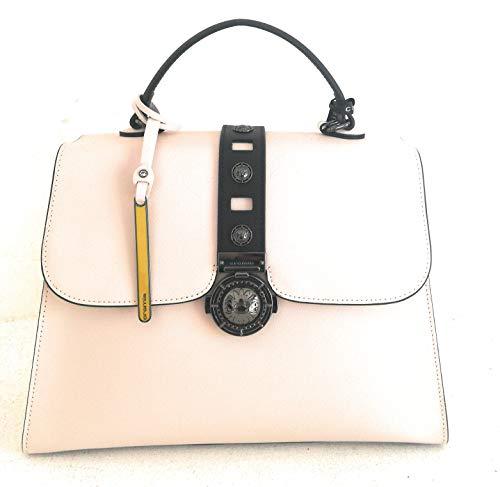 Cromia borsa donna pelle a mano con tracolla beige pelle linea GLORIA 1403917 mis. 31x23,5x13 cm.