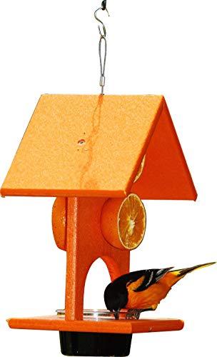 "Songbird Essentials SERUBFJF 6""x 8.3""x 10""Fruit and Jelly Oriole Feeder"