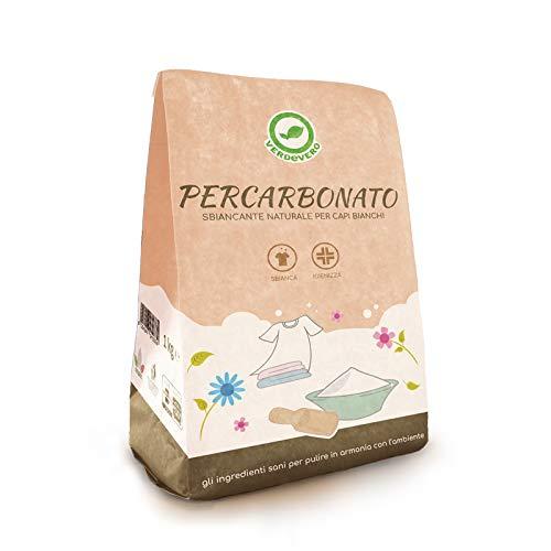 Verdevero PERCARBONATO Sbiancante Confezione da 1 kg