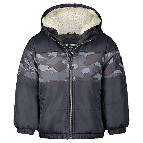 OshKosh B'Gosh baby-boys Heavyweight Winter Jacket With Sherpa Lining