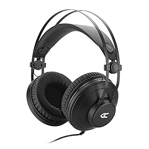 Avenzo - Auriculares con Cable, Modelo AV-HP2200B, Ligero y Duradero, Función Manos Libres, Auriculares con Micrófono, Cascos Cómodos...