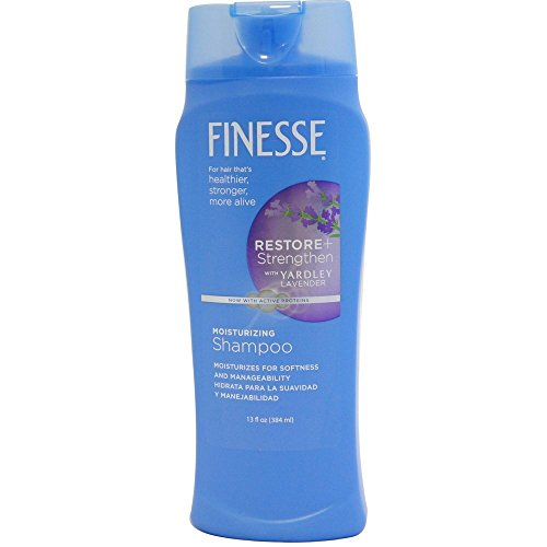 Finesse Shampoo with a Touch of Yardley Lavender for All Hair Type 13 oz (Pack of 2)