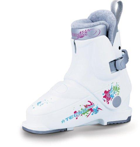 Tecno Pro G40 Mädchen Skischuh weiss/pink, Größe:24