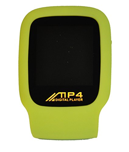 Speedo Aquaspeaker Waterproof Portable Speaker Case Lime MP3Player 4GB